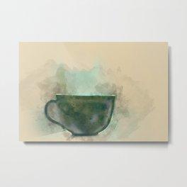 One cup  Metal Print