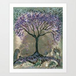 Jacaranda Art Print