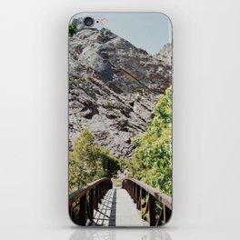 Bridge to the Mountains iPhone Skin