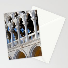 Doges Palace facade details Stationery Cards