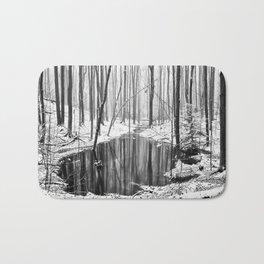 Hidden sump Bath Mat