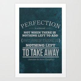 Perfection Art Print