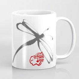 dragonflies in ink Coffee Mug