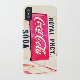 Royal Pharmacy Vintage Sign - New Orleans iPhone Case