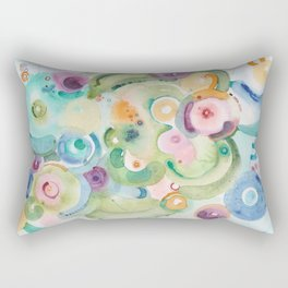 Early May on the Adriatic Rectangular Pillow