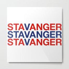 STAVANGER Metal Print