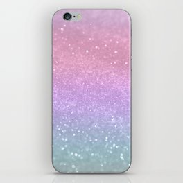Unicorn Princess Glitter #1 #pastel #decor #art #society6 iPhone Skin