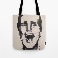 patrick Tote Bags featuring Patrick by Kayleigh Kirkpatrick