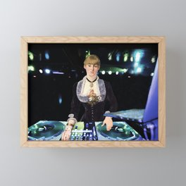 A DJ at the Folies-Bergère Framed Mini Art Print