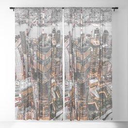 NEW YORK CITY XI Sheer Curtain