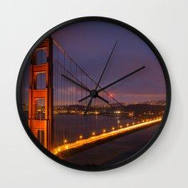 Golden Gate Bridge Wall Clock