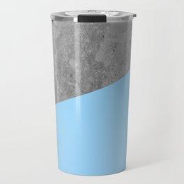 Geometry 101 Blue Raspberry Travel Mug
