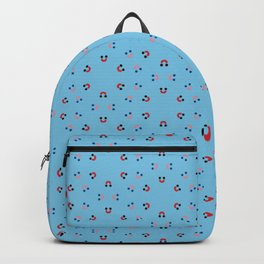 Happy happy face face Backpack