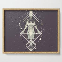 Sacred Geometry (Divine Feminine) Serving Tray