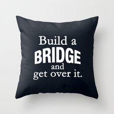Build a Bridge Throw Pillow