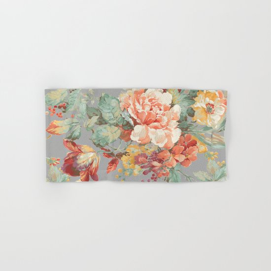 fall garden Hand & Bath Towel