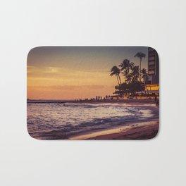 Sunset in Hawaii 0015 Bath Mat
