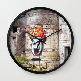 Lost places Wall Clock