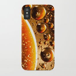 Oil And Water Don't Mix iPhone Case