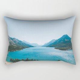 Waterton Lakes National Park II Rectangular Pillow