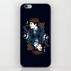 Captain Jack of Hearts iPhone & iPod Skin