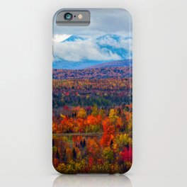 Katahdin Foliage (3) iPhone Case