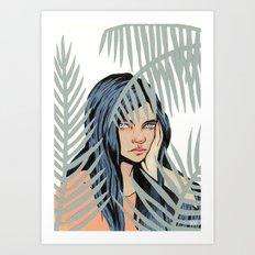 Tropical Wilderness Art Print