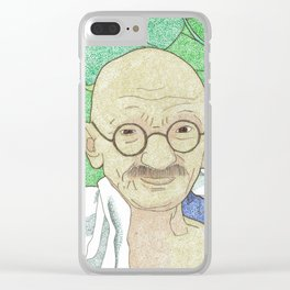 Gandhi Clear iPhone Case