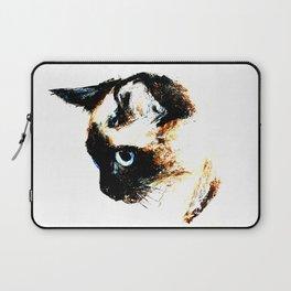 Siamese Cat 2015 edit Laptop Sleeve