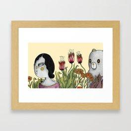 looking for Bears Framed Art Print