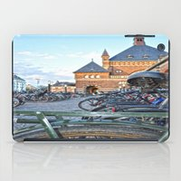 bicycles iPad Cases featuring bicycles by  Agostino Lo Coco