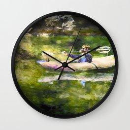 Colorado River Ducky Wall Clock