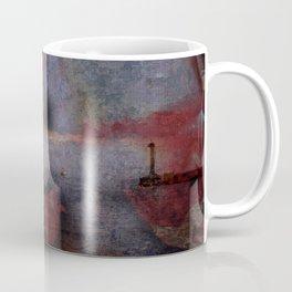Red in Blue blues Coffee Mug