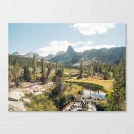 Rae Lakes - Kings Canyon I Canvas Print