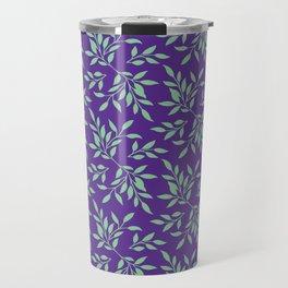 leaves pattern 3 Travel Mug