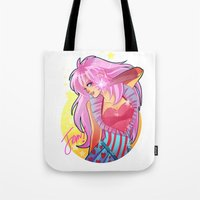 jem Tote Bags featuring Jem by HanieMohd