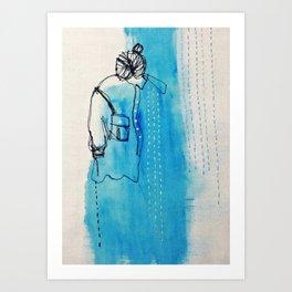 Broken Soul Art Print