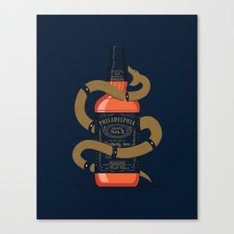 Lucky No. 7 (Union) Canvas Print