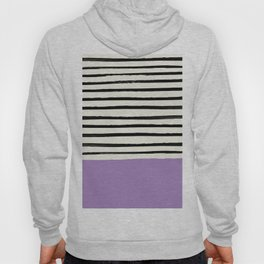 Lavender x Stripes Hoody
