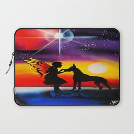 For the Love of a Great Dane Laptop Sleeve