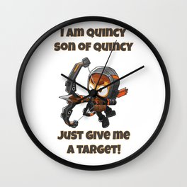 Quincy Wall Clock