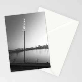 Pollution Permitted B&W Stationery Cards