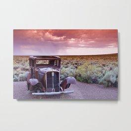Painted desert, Arizona. Metal Print
