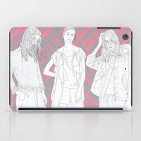 girls iPad Cases featuring Girls by Katilinova