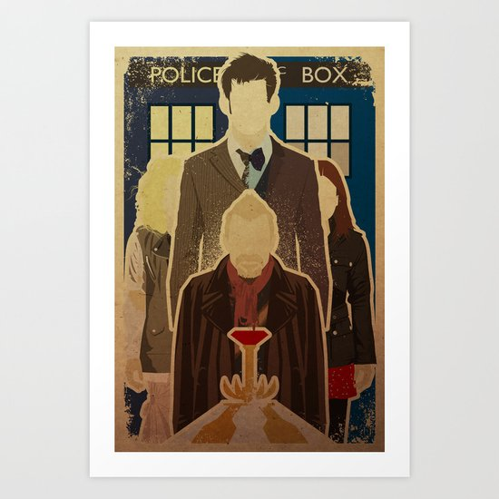 Day of the Doctor Art Print