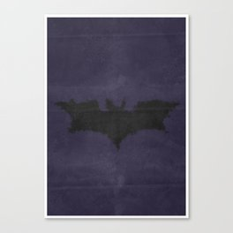 Caped Crusader -TDK Canvas Print