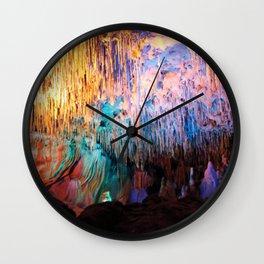 Rainbow Cavern Wall Clock