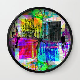 Wonder about equation resulting in parallelograms. [RGB] Wall Clock