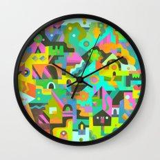 Neighbourhood Wall Clock