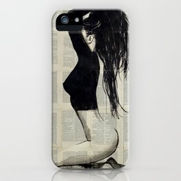 THE BLACK TOP iPhone Case